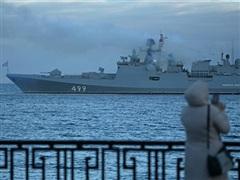 Hơn 50 tàu thuộc Hạm đội Baltic của Nga tập trận trên biển