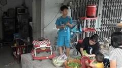 Nhiều nhà dân thấp trũng khi nâng đường Nguyễn Hữu Cảnh