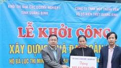 Quảng Bình: Xây tặng nhà 'Đại đoàn kết' cho hộ nghèo