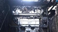 Hà Nội: Hiện trường vụ cháy hệ thống điều, hàng trăm cư dân hoảng loạn bỏ chạy
