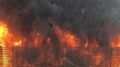 Hà Nội: Cháy hệ thống điều hoà khu chung cư khiến hàng trăm cư dân hoảng sợ