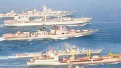 Ấn Độ - Nga tập trận hải quân chung