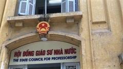 339 ứng viên GS, PGS đạt đủ số phiếu tín nhiệm của Hội đồng Giáo sư nhà nước