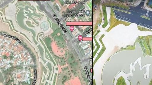 Địa điểm hình rồng khổng lồ tại Việt Nam nhìn rõ từ trên cao qua Google Maps gây sốt MXH