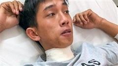 Điều tra nam tài xế GrabBike suýt mất mạng vì bị khách cứa cổ