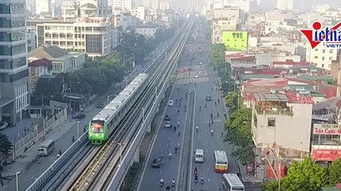 Tổng thầu Trung Quốc chạy tàu đường sắt Cát Linh - Hà Đông trước khi vận hành thử