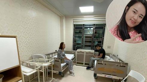Mẹ Hà Nội sinh mổ ở viện công mà mà phòng ốc sang chảnh ngỡ viện quốc tế, chi phí lại cực kì phải chăng