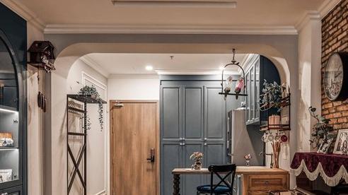 Vợ yêu phong cách Rustic, chồng mua luôn hai căn hộ ở quận Bình Thạnh, cải tạo thành không gian sống rộng 180m² đẹp như mơ