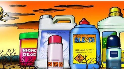 Phát hiện kho hóa chất 'khủng' nguy hiểm trong KCN Tân Tạo