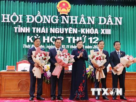 Bầu các chức danh chủ chốt của HĐND và UBND tỉnh Thái Nguyên