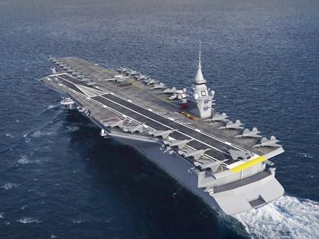 Pháp lên kế hoạch thay thế tàu sân bay Charles de Gaulle