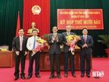 Tiền Giang, Ninh Thuận bầu Chủ tịch, Phó Chủ tịch UBND tỉnh