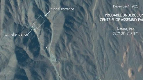 Rộ tin Iran đang xây cơ sở hạt nhân dưới lòng đất sau bức ảnh chụp từ vệ tinh