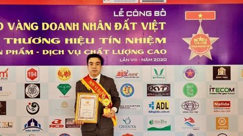 Sao Vàng Doanh nhân Đất Việt – Khẳng định thương hiệu Dr Green