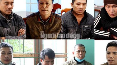 Khởi tố 'Sơn Lập' và 7 đàn em phá rừng gỗ quý ở Trường Sơn
