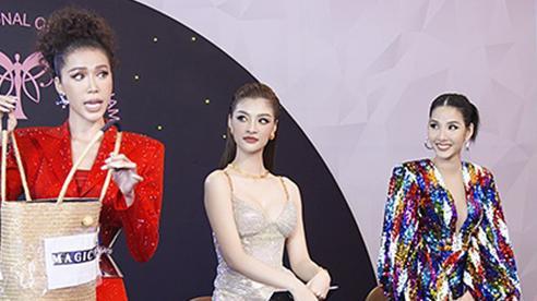 Hoàng Thuỳ mang chè đậu đỏ 'quyết chiến' với Kiều Loan, Minh Tú