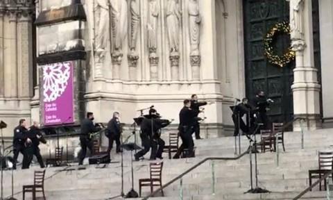 Nổ súng bên ngoài nhà thờ ở New York