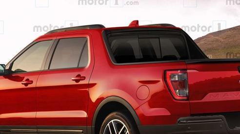 Bán tải 'mini' Ford Maverick - Đàn em của Ford Ranger sẽ chỉ có cấu hình 4 cửa?