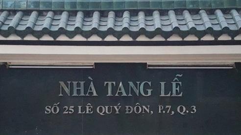 Vì sao nhà tang lễ ở trung tâm TP.HCM bất ngờ dừng hoạt động?