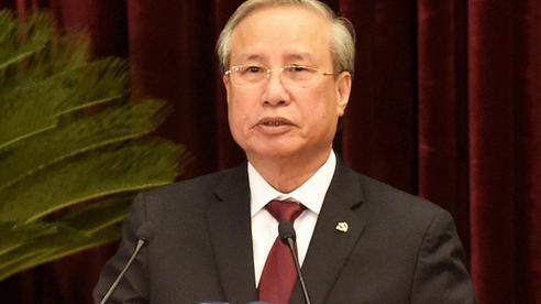 Thường trực Ban Bí thư Trần Quốc Vượng điều hành ngày làm việc thứ ba Hội nghị Trung ương 14
