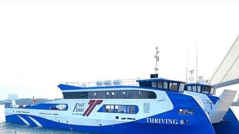 Phà biển đầu tiên từ TP.HCM đi Vũng Tàu chở được bao nhiêu người?