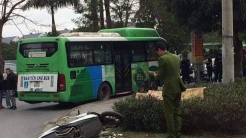 Hà Nội: Va chạm với xe buýt, nam thanh niên giao hàng tử vong thương tâm