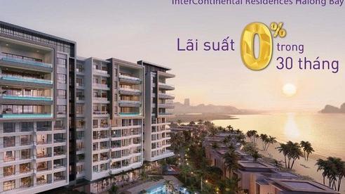 Ưu đãi lãi suất 0% trong 30 tháng dành cho khách hàng mua nhà tại InterConental Hạ Long