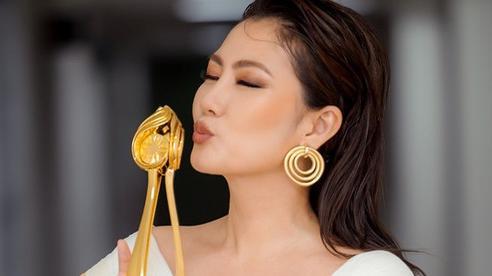 Ngọc Lan thắng giải 'Nữ diễn viên xuất sắc nhất' Liên hoan truyền hình toàn quốc