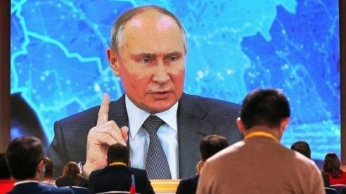 Nhiều điểm đáng chú ý trong cuộc họp báo cuối năm của Tổng thống Putin