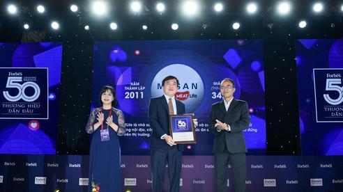 Masan Consumer và Masan MEATLife thuộc Top thương hiệu dẫn đầu tại Việt Nam