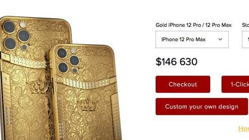 Phiên bản iPhone 12 Pro và Pro Max có giá từ 2,8 - 3,3 tỷ đồng, đúng là chỉ dành cho người giàu tiêu tiền!