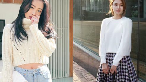 Cách diện áo len cực đẹp trong mùa Đông