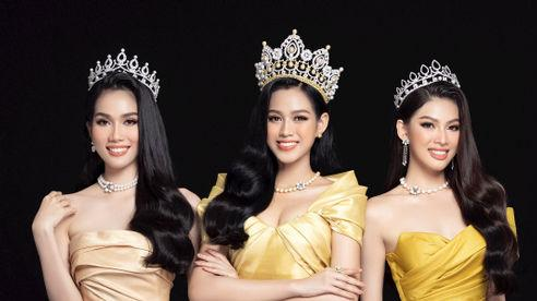 Nhan sắc Hoa hậu Đỗ Thị Hà và 2 Á hậu sau một tháng đăng quang