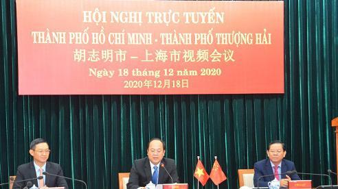 TP. Hồ Chí Minh thúc đẩy quan hệ hợp tác với TP. Thượng Hải (Trung Quốc)