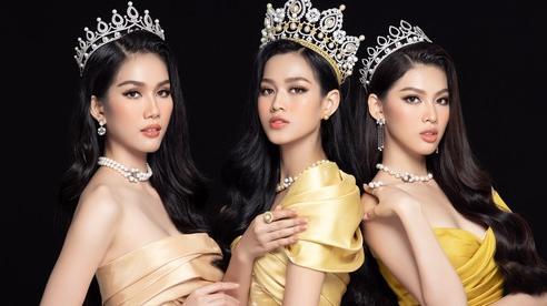 Hoa hậu Việt Nam Đỗ Thị Hà và hai á hậu 'lột xác' sau 1 tháng đăng quang