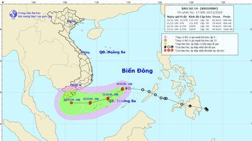 Ứng phó bão số 14, UBND TP.HCM ra công văn khẩn
