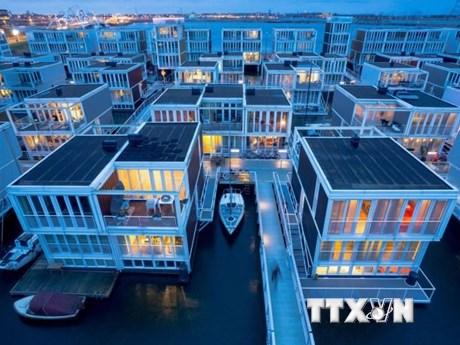 Amsterdam: Trải nghiệm cuộc sống 'nổi trôi' ở khu phố Waterbuurt