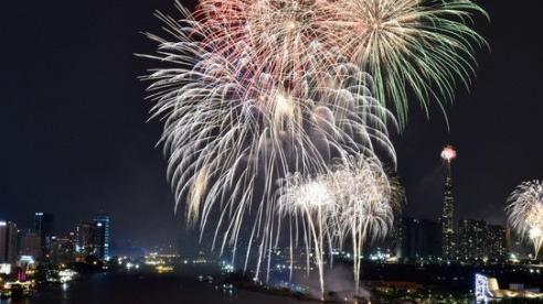 TP Hồ Chí Minh bắn pháo hoa tại 3 điểm đón Tết Dương lịch 2021