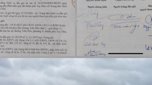 Bao giờ UBND tỉnh Phú Yên phê duyệt kết quả trúng đấu giá?