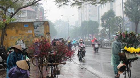 Dự báo thời tiết ngày 24/12: Hà Nội có mưa nhỏ, trời rét