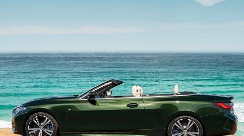 Soi mẫu BMW 4-Series Convertible 2021 giá từ 1,5 tỷ đồng 'sang, xịn' cỡ nào?