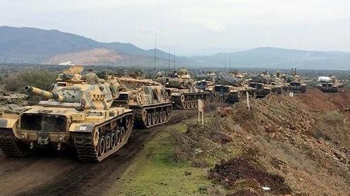 Tình hình chiến sự Syria mới nhất ngày 23/12: Quân đội Thổ Nhĩ Kỳ triển khai xe tăng 'ào ạt' ở Syria
