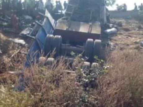 Tai nạn giao thông thảm khốc tại Nigeria, ít nhất 12 người thiệt mạng