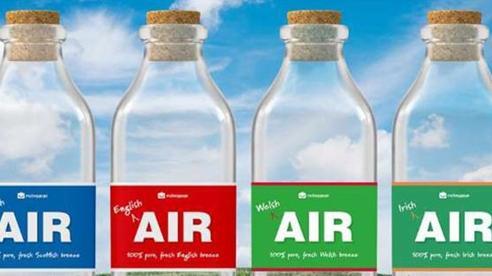 Độc lạ những chai không khí Anh dành cho người nhớ quê
