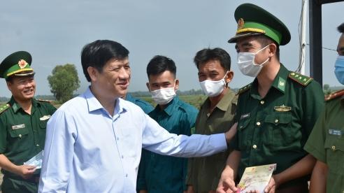 Bộ Trưởng Bộ Y tế: Cần tăng cường phòng, chống và ngăn chặn dịch COVID-19 tại khu vực cửa khẩu, biên giới