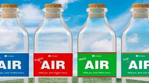 Sản phẩm độc lạ - không khí đóng chai cho người nhớ nhà