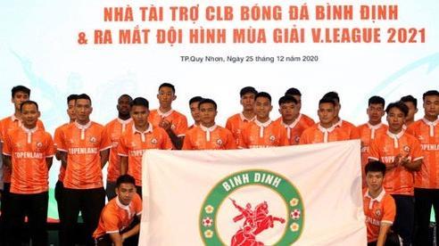 Bình Định đặt mục tiêu top 3 bóng đá đỉnh cao Việt Nam