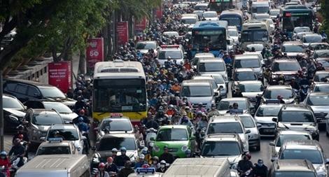 Dự báo ùn tắc giao thông tại Hà Nội sẽ ngày càng phức tạp