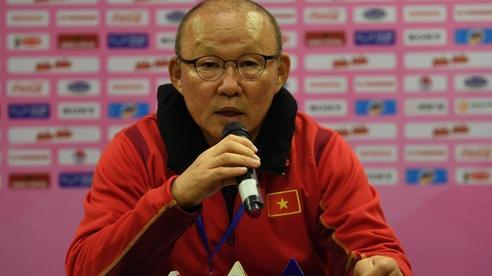 HLV Park Hang-seo: 'Quan trọng nhất là tạo được cơ hội cho tất cả cầu thủ thi đấu'