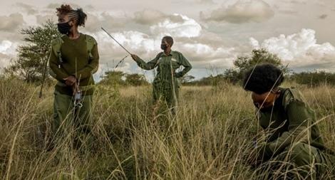 Biệt đội nữ chống tội phạm săn trộm ở châu Phi